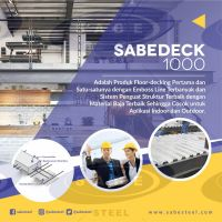 SABEDECK SD-1000 Technical drawing